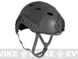 Emerson FAST Type Tactical Airsoft Helmet (PJ Type / Advanced / Black)