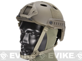 6mmProShop Advanced PJ Type Tactical Airsoft Bump Helmet (Color: Tan Navy Seal / Medium - Large)