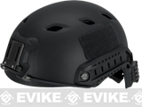 Pre-Order Estimated Arrival: 08/2014 --- Base Jump Military Style Tactical Airsoft Helmet Type A - Black