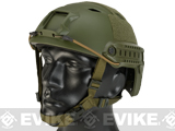 Base Jump Military Style Tactical Airsoft Helmet Type A - OD Green