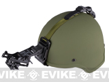 Matrix MICH 2000 Helmet w/ NVG Mount & Mount Base - (OD Green)
