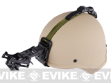Matrix MICH 2000 Fiberglass Airsoft Helmet w/ NVG Mount & Mount Base (Color: Tan)