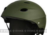 High Speed US Air Force Recon Tactical Helmet w/ Goggle Strap Secure - OD Green