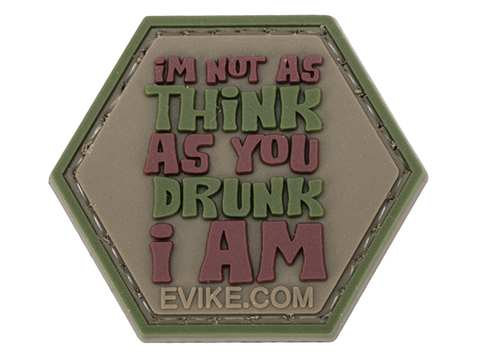 Operator Profile PVC Hex Patch Catchphrase Series 5 (Style: I'm Not As Think As...)