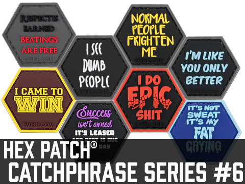 Operator Profile PVC Hex Patch Catchphrase Series 6