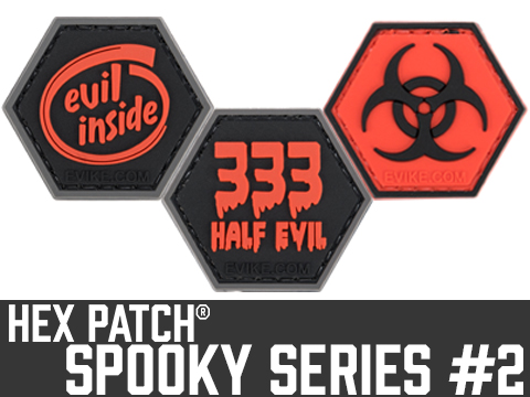 Operator Profile PVC Hex Patch Spooky Series 2 (Style: Biohazard)