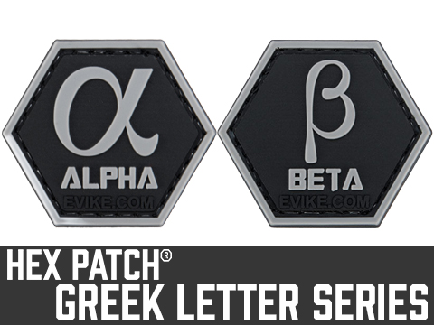 Operator Profile PVC Hex Patch Greek Letters Series