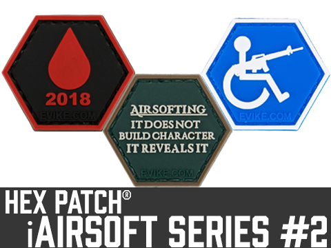Operator Profile PVC Hex Patch iAirsoft Series 2 (Style: It Does Not Build Character)