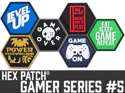 Operator Profile PVC Hex Patch Gamer Series 5 (Style: Level Up)