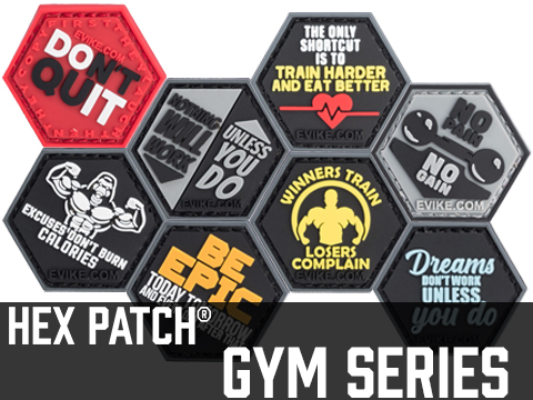 Operator Profile PVC Hex Patch Gym Series