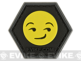 Operator Profile PVC Hex Patch Emoji Series (Emoji: Smirk)