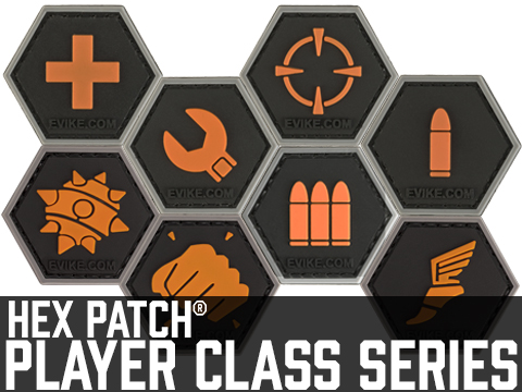 Operator Profile PVC Hex Patch  Player Class Series