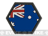 Operator Profile PVC Hex Patch Flag Series (Country: Australia)