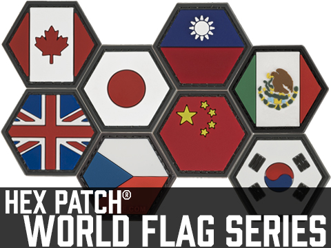 Operator Profile PVC Hex Patch Flag Series