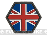 Operator Profile PVC Hex Patch Flag Series (Country: United Kingdom)