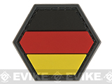 Operator Profile PVC Hex Patch Flag Series (Country: Germany)