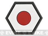 Operator Profile PVC Hex Patch Flag Series (Country: Japan)