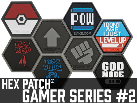 Operator Profile PVC Hex Patch Gamer Series 2
