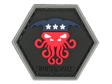 Operator Profile PVC Hex Patch  Political Party Series (Party: Cthulhu)