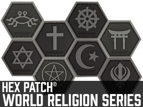 Operator Profile PVC Hex Patch  World Religion Series