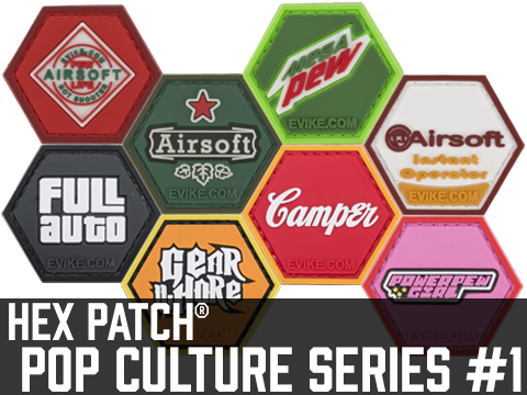 Operator Profile PVC Hex Patch Pop Culture Series 1 (Style: Gear Whore)