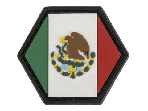 Operator Profile PVC Hex Patch Flag Series (Country: Mexico)