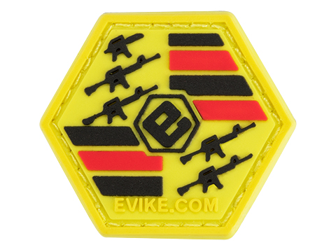 Operator Profile PVC Hex Patch Evike Series 1 (Style: Gangnam)