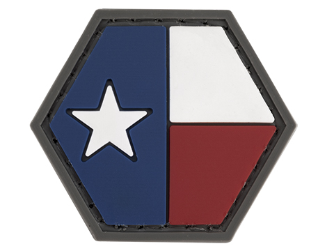 Operator Profile PVC Hex Patch State Flag Series (State: Texas)