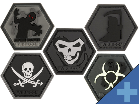 Operator Profile PVC Hex Patch Spooky Series (Style: Reaper)