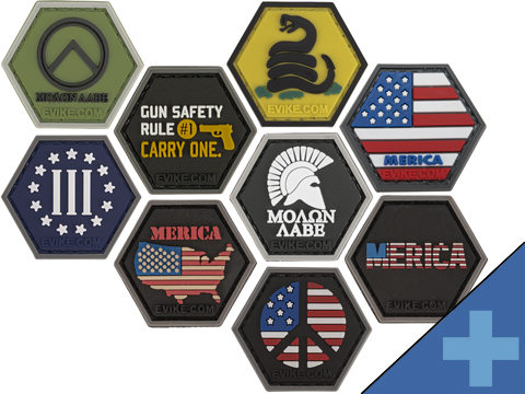 Operator Profile PVC Hex Patch Freedom! Series (Style: Molon Labe)