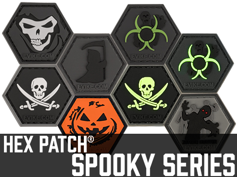 Operator Profile PVC Hex Patch Spooky Series
