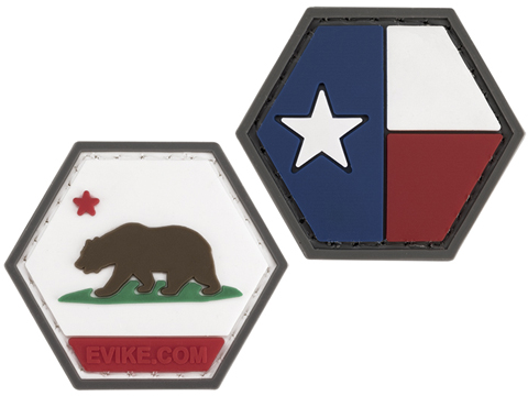 Operator Profile PVC Hex Patch State Flag Series