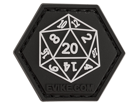Operator Profile PVC Hex Patch Gamer Series (Style: 20 Sided Die)