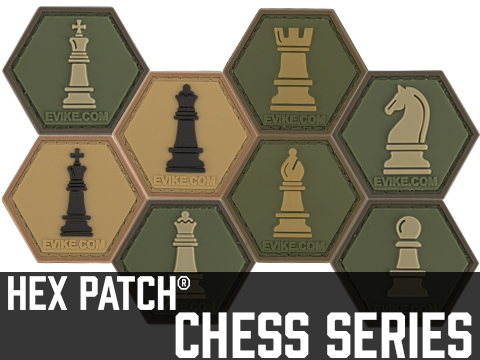 Operator Profile PVC Hex Patch  Chess Series