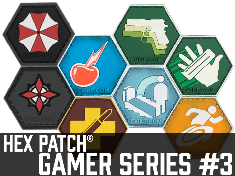 Operator Profile PVC Hex Patch Gamer Series 3 (Style: Umbrella)