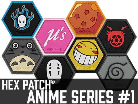 Operator Profile PVC Hex Patch Anime Series 1 (Style: Neighbor)