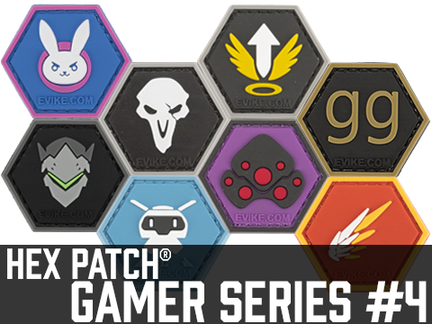 Operator Profile PVC Hex Patch Gamer Series 4 (Style: D.Va)