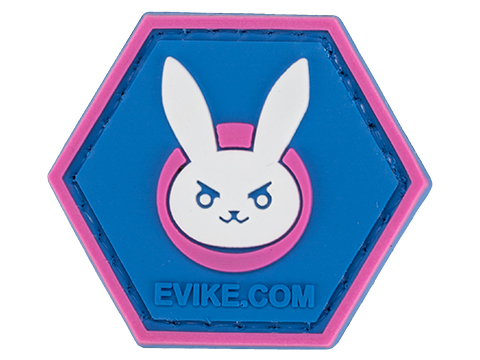 Operator Profile PVC Hex Patch Gamer Series (Style: D.Va)