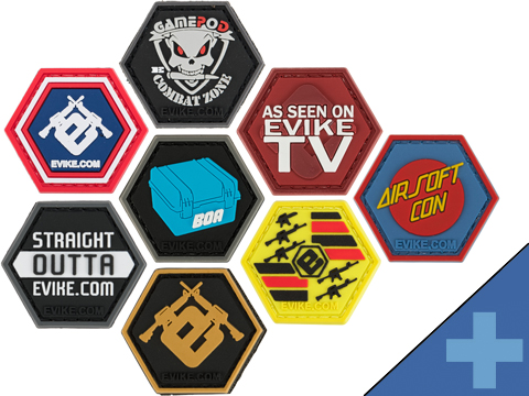 Operator Profile PVC Hex Patch Evike Series (Style: Evike E)