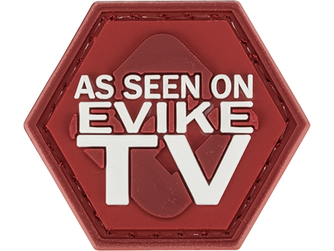 Operator Profile PVC Hex Patch Evike Series (Style: As Seen on Evike TV)