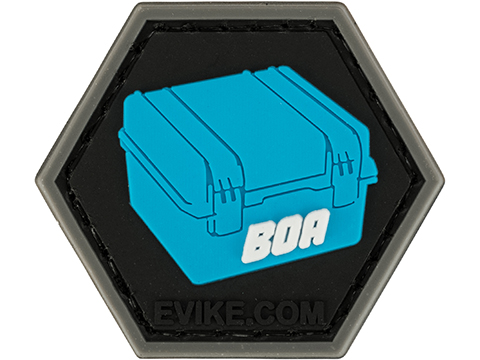 Operator Profile PVC Hex Patch Evike Series (Style: Box of Awesomeness - Blue)