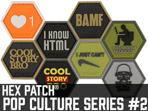 Operator Profile PVC Hex Patch Pop Culture Series 2