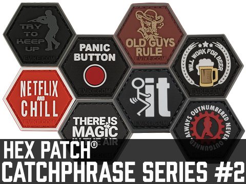 Operator Profile PVC Hex Patch Catchphrase Series 2