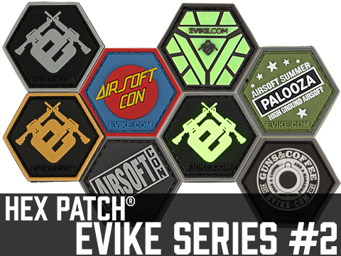 Operator Profile PVC Hex Patch Evike Series 2 (Style: Reactor Glow In The Dark)