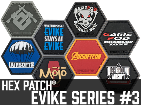 Operator Profile PVC Hex Patch Evike Series 3