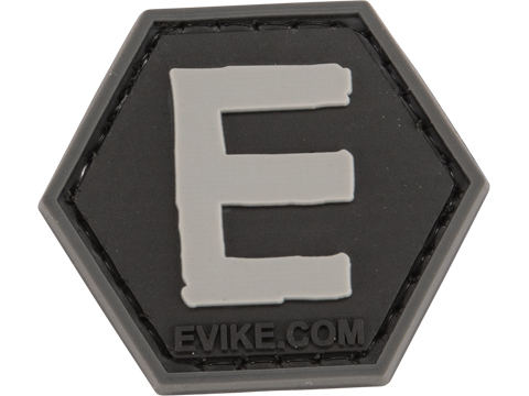 Operator Profile PVC Hex Patch - Alphabet Series (Letter: E)