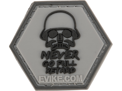 Operator Profile PVC Hex Patch Pop Culture Series (Style: Never Go Full)