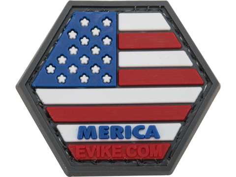 Operator Profile PVC Hex Patch Freedom! Series (Style: Full 'Merica)