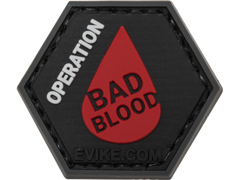 Operator Profile PVC Hex Patch Industry Series (Style: Operation Bad Blood)