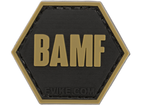 Operator Profile PVC Hex Patch Pop Culture Series (Style: BAMF)
